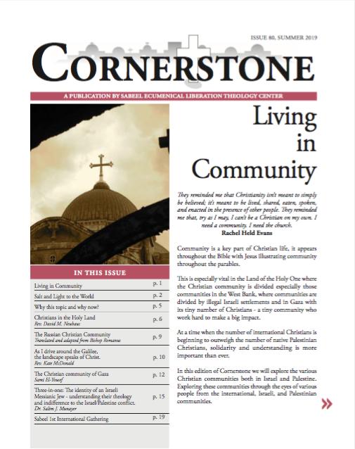 Framsida Cornerstone nr 79 vinter 2018/2019